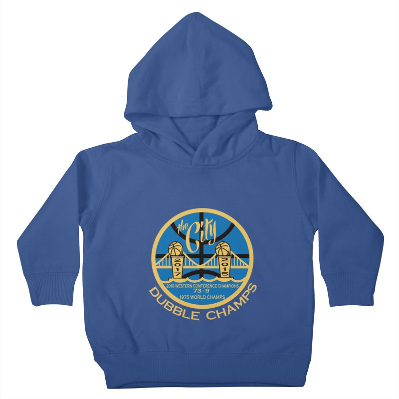 Dubble Champs Kids Toddler Pullover Hoody by cityshirts's Artist Shop