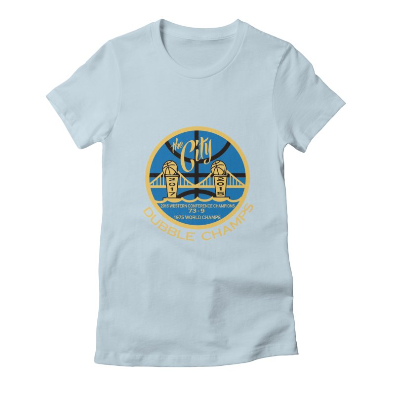 Dubble Champs Women's Fitted T-Shirt by cityshirts's Artist Shop