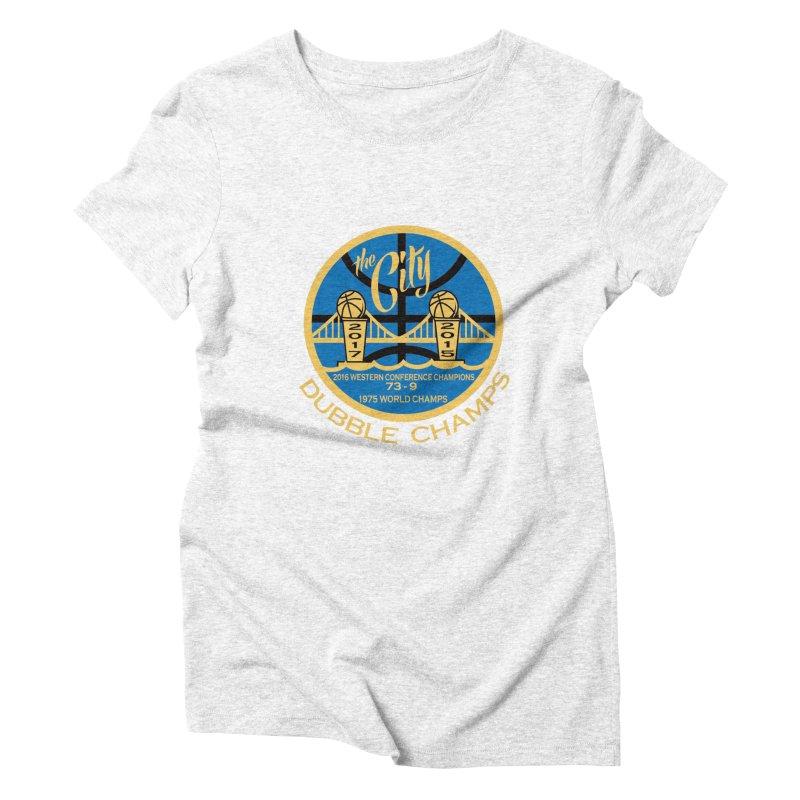 Dubble Champs Women's Triblend T-shirt by cityshirts's Artist Shop