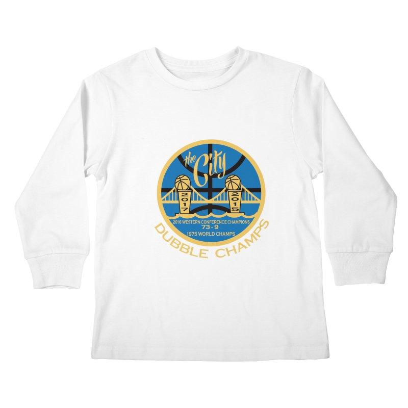 Dubble Champs Kids Longsleeve T-Shirt by cityshirts's Artist Shop