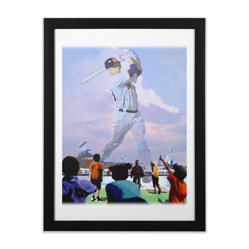The Giant Two, after wyeth Home Framed Fine Art Print by cityshirts's Artist Shop