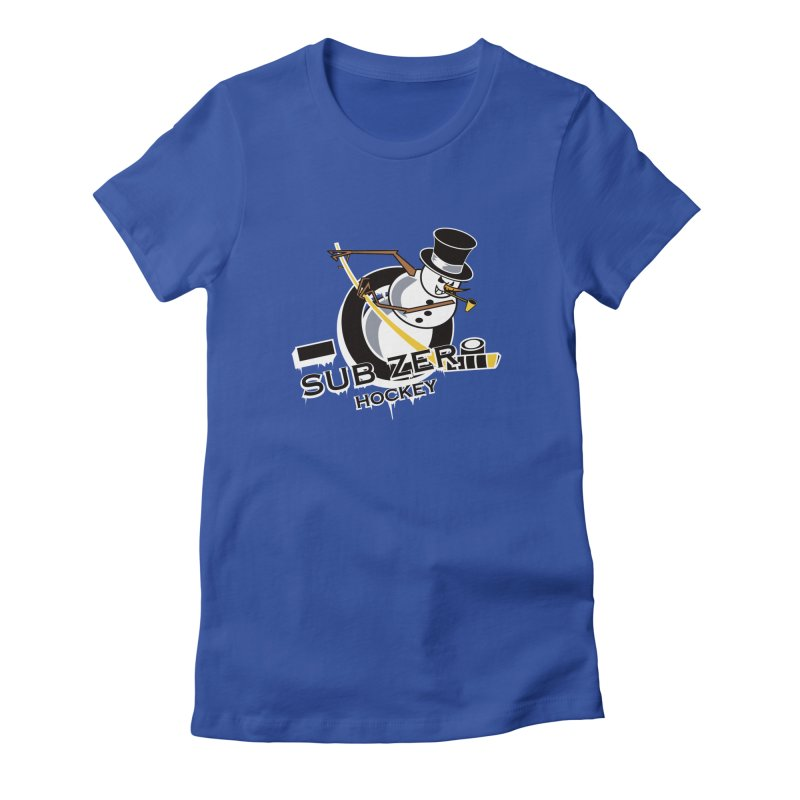 Sub Zero Women's Fitted T-Shirt by cityshirts's Artist Shop