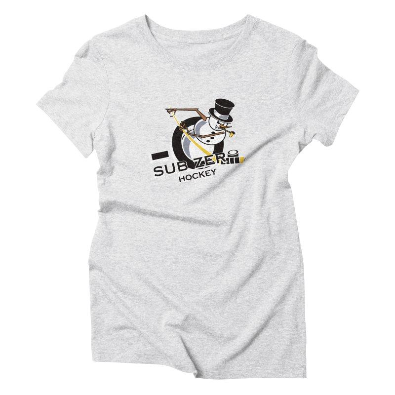 Sub Zero Women's Triblend T-shirt by cityshirts's Artist Shop