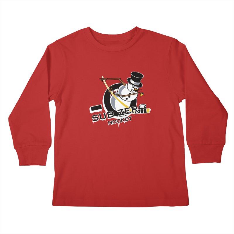 Sub Zero Kids Longsleeve T-Shirt by cityshirts's Artist Shop