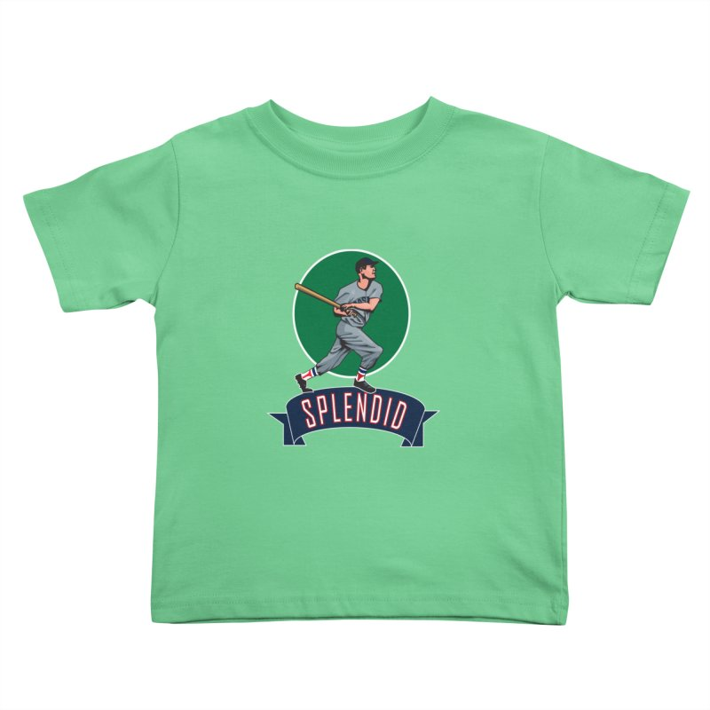 """splendid"" Kids Toddler T-Shirt by cityshirts's Artist Shop"