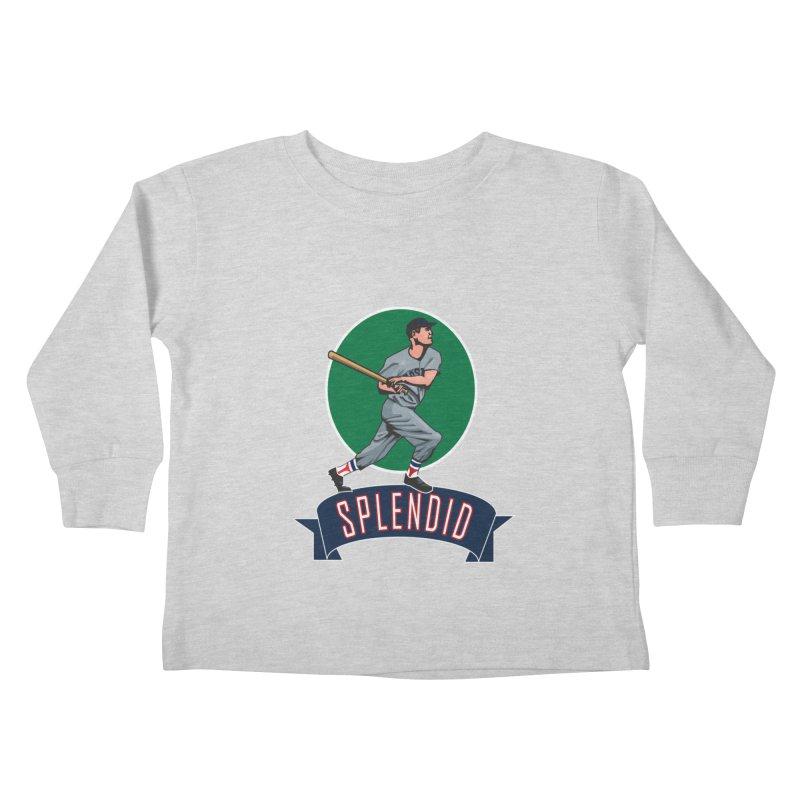 """splendid"" Kids Toddler Longsleeve T-Shirt by cityshirts's Artist Shop"