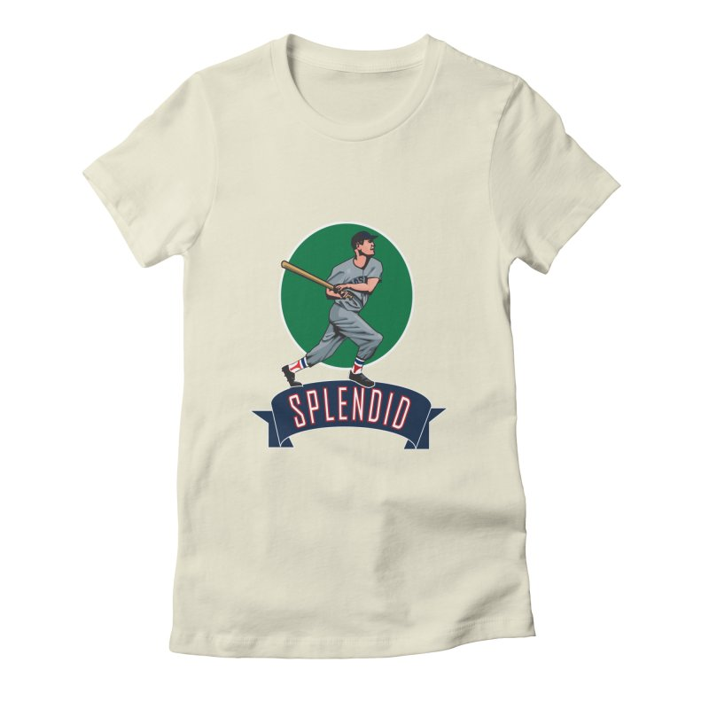 """splendid"" Women's Fitted T-Shirt by cityshirts's Artist Shop"