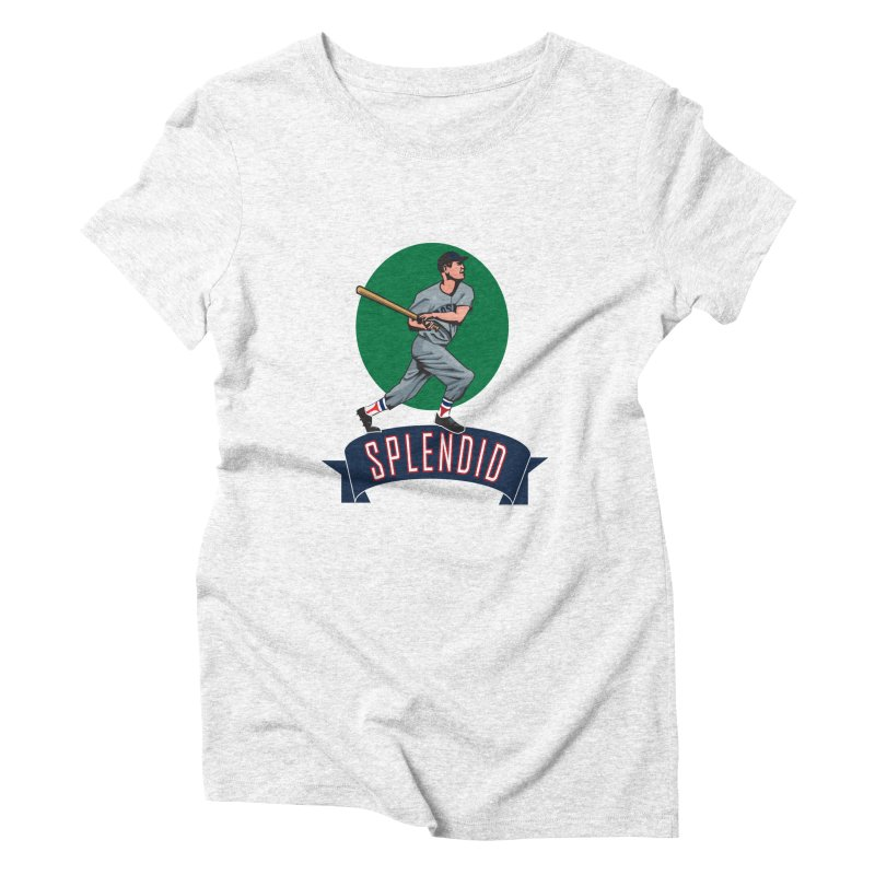 """splendid"" Women's Triblend T-shirt by cityshirts's Artist Shop"