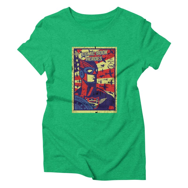 American Made since 1938 Women's Triblend T-shirt by cityshirts's Artist Shop