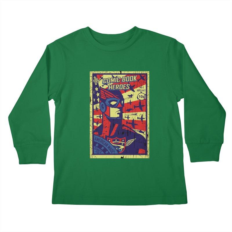 American Made since 1938 Kids Longsleeve T-Shirt by cityshirts's Artist Shop