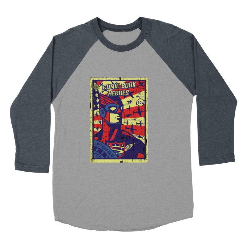 American Made since 1938 Men's Baseball Triblend T-Shirt by cityshirts's Artist Shop