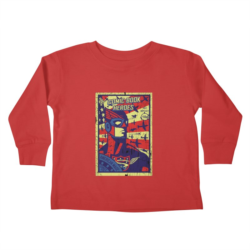 American Made since 1938 Kids Toddler Longsleeve T-Shirt by cityshirts's Artist Shop