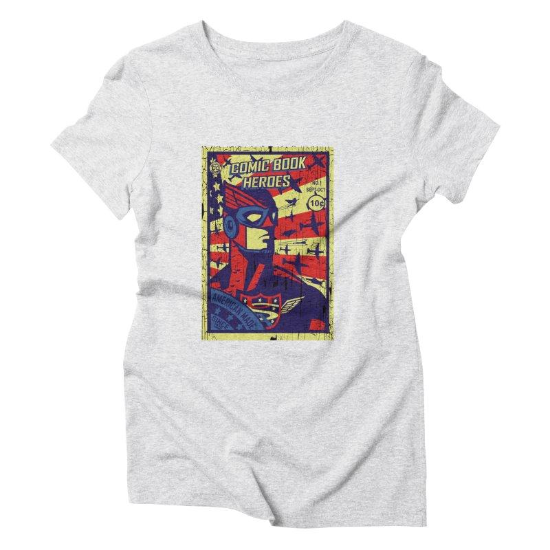 American Made since 1938 Women's Triblend T-Shirt by cityshirts's Artist Shop