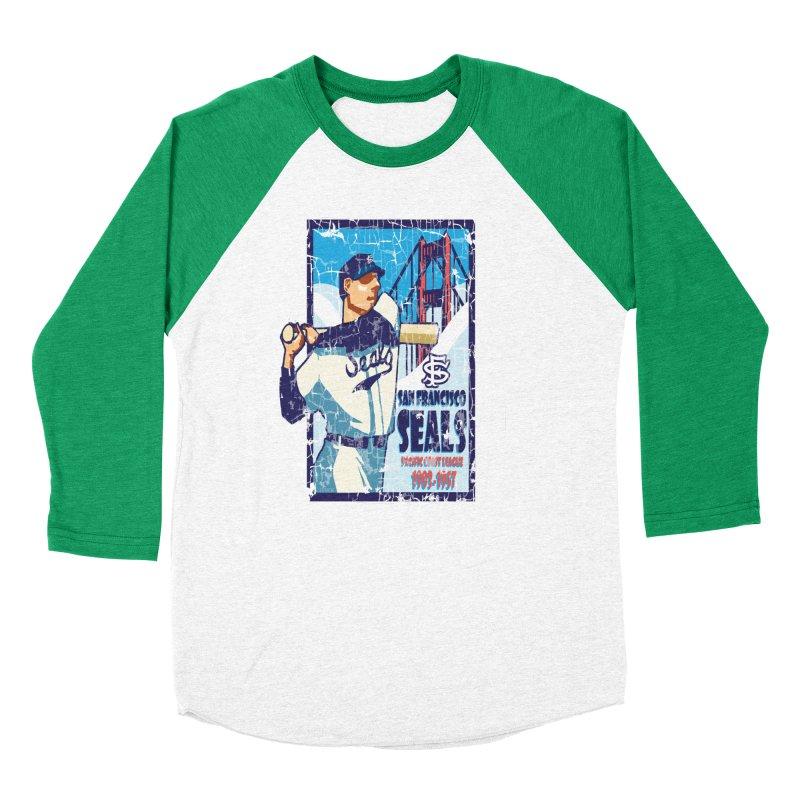 Seals Women's Baseball Triblend T-Shirt by cityshirts's Artist Shop
