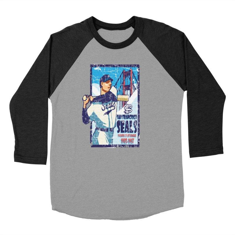 Seals Men's Baseball Triblend T-Shirt by cityshirts's Artist Shop