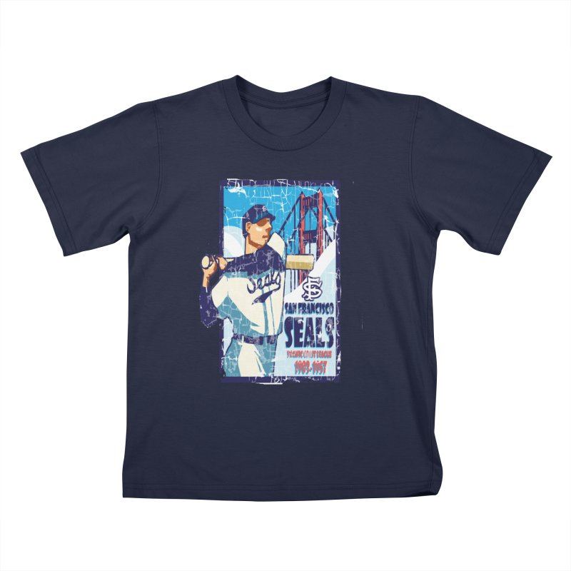 Seals Kids T-Shirt by cityshirts's Artist Shop