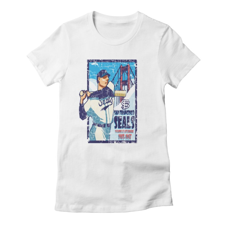Seals Women's Fitted T-Shirt by cityshirts's Artist Shop