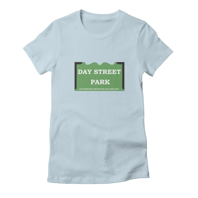 Day Street Park Women's Fitted T-Shirt by cityshirts's Artist Shop