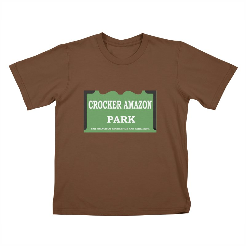 Crocker Amazon Park Kids T-Shirt by cityshirts's Artist Shop