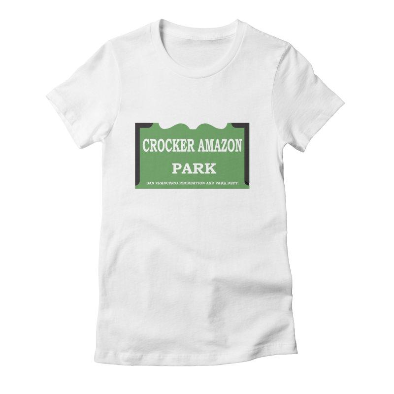 Crocker Amazon Park Women's Fitted T-Shirt by cityshirts's Artist Shop