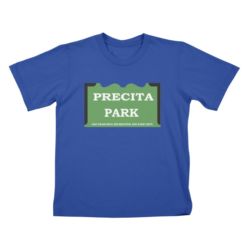 Precita Park Kids T-Shirt by cityshirts's Artist Shop