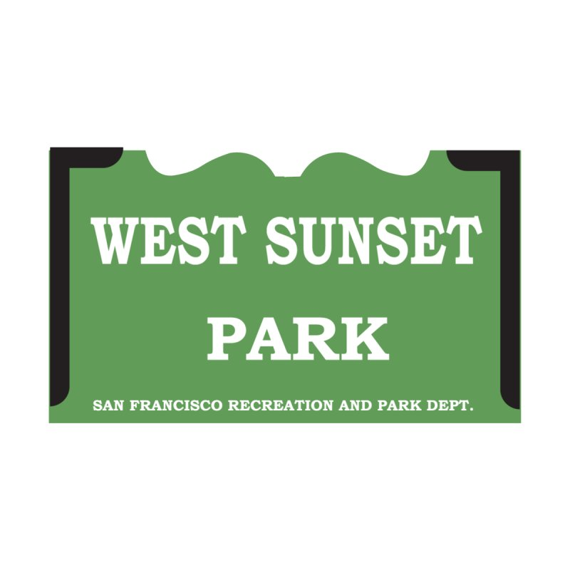 West Sunset Park by cityshirts's Artist Shop
