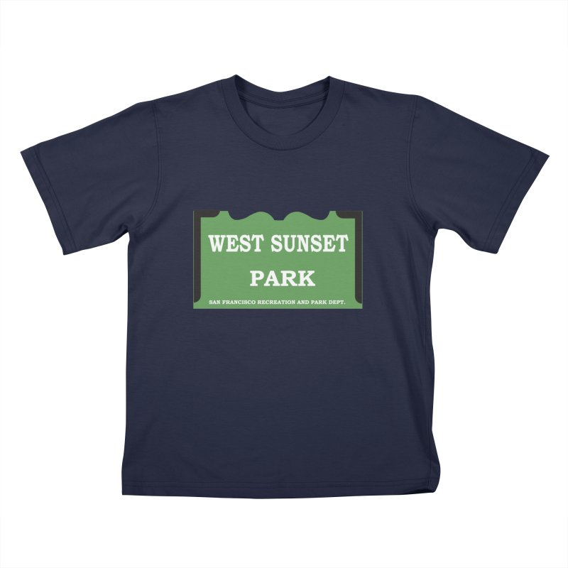 West Sunset Park Kids T-Shirt by cityshirts's Artist Shop