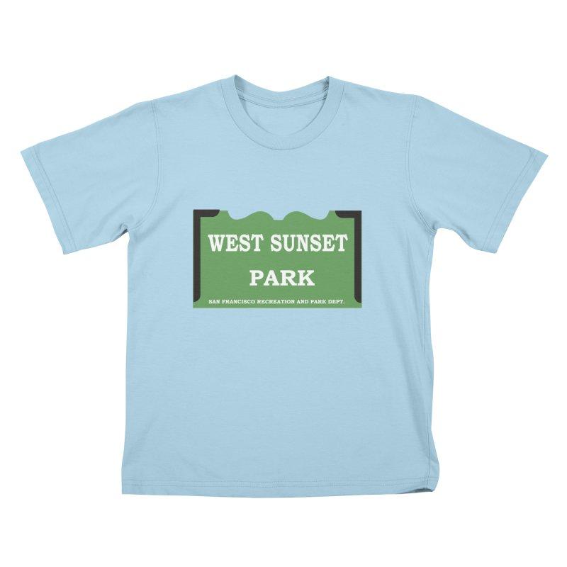 West Sunset Park Kids T-Shirt by cityshirts's Artist Shop