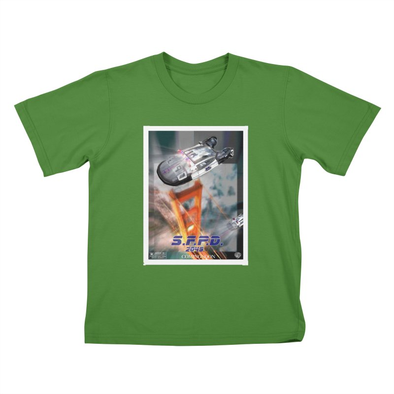S.F.P.D. 2049 The Movie Kids T-Shirt by cityshirts's Artist Shop