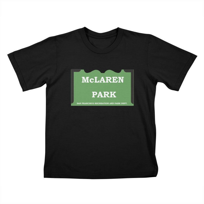 McLaren Park Kids T-Shirt by cityshirts's Artist Shop