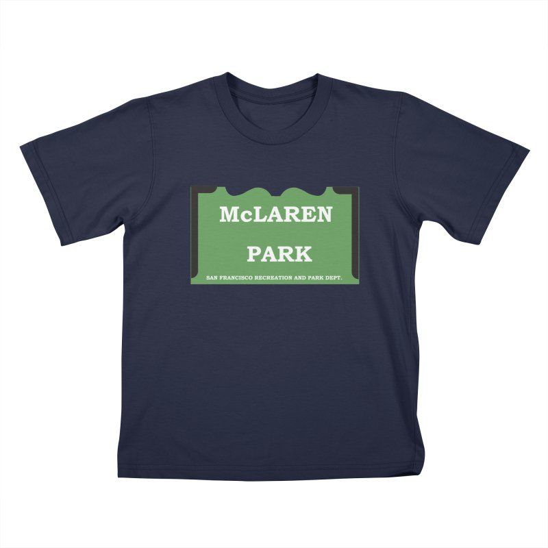 McLaren Park Kids T-Shirt by cityshirts's Artist Shop