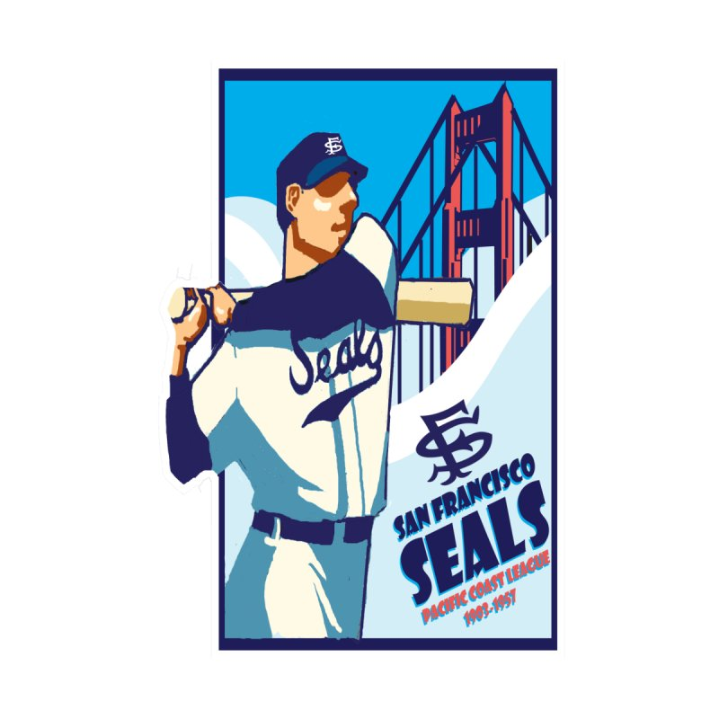 San Francisco Seals non weathered by cityshirts's Artist Shop