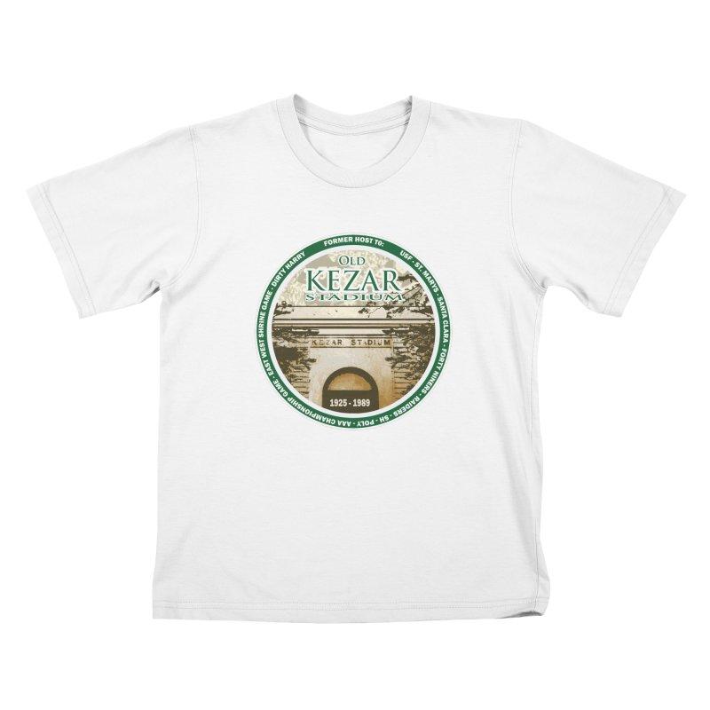 Kezar Stadium Kids T-Shirt by cityshirts's Artist Shop