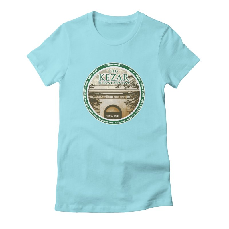 Kezar Stadium Women's Fitted T-Shirt by cityshirts's Artist Shop