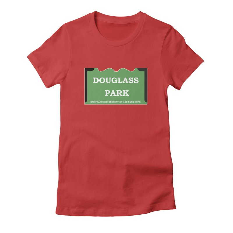 Douglass Park Women's Fitted T-Shirt by cityshirts's Artist Shop