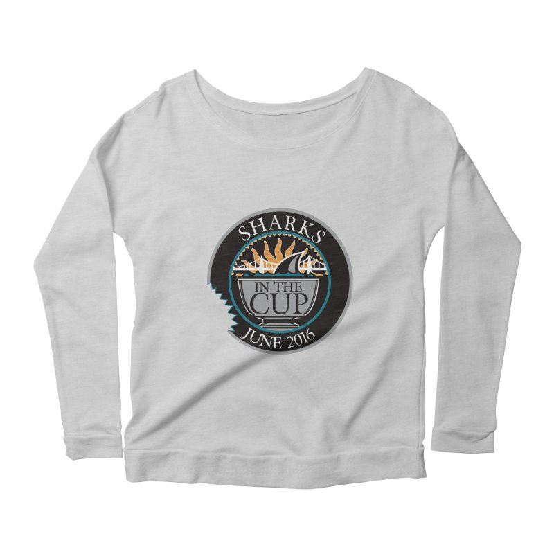 In the Cup Women's Longsleeve Scoopneck  by cityshirts's Artist Shop