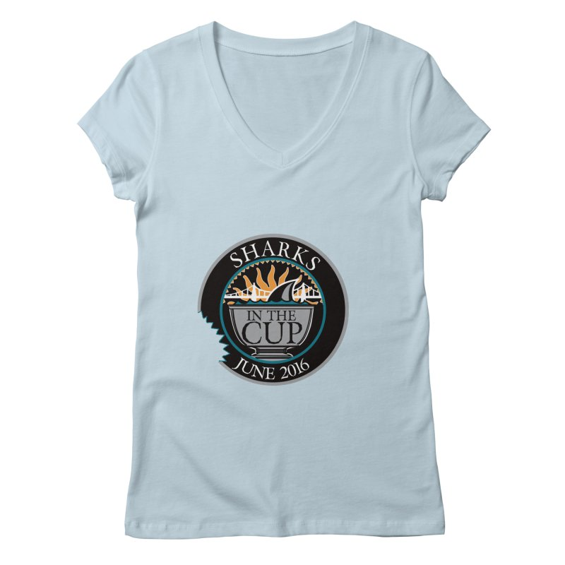 In the Cup Women's V-Neck by cityshirts's Artist Shop