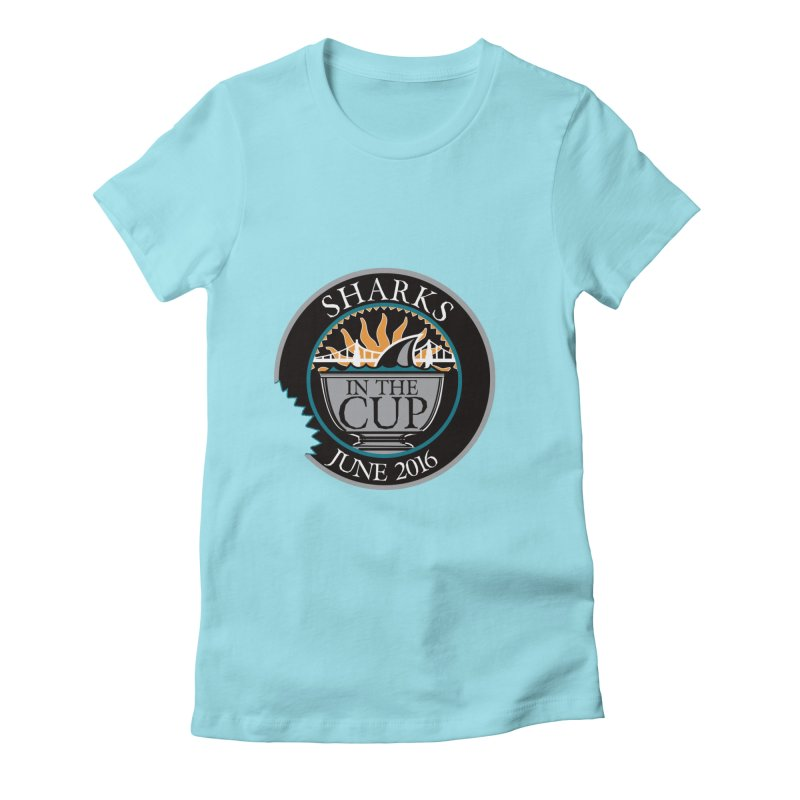 In the Cup Women's Fitted T-Shirt by cityshirts's Artist Shop