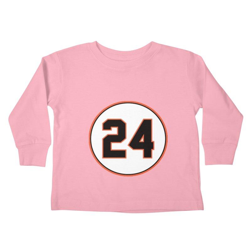 say hey! Kids Toddler Longsleeve T-Shirt by cityshirts's Artist Shop