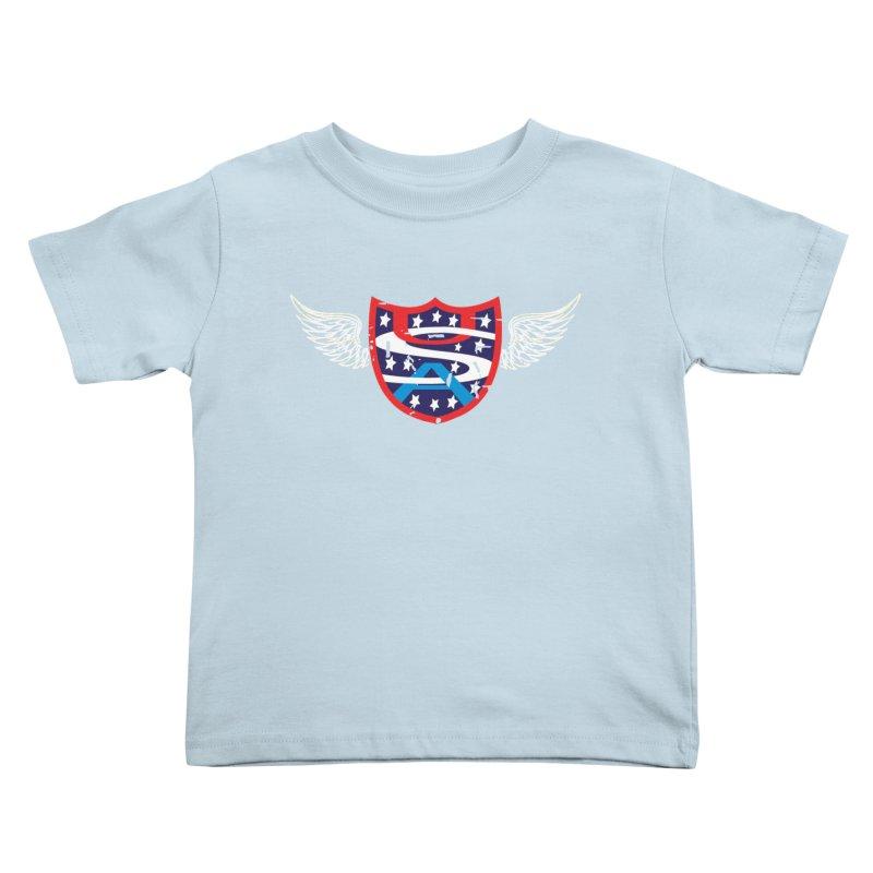 National Pride !! Kids Toddler T-Shirt by cityshirts's Artist Shop
