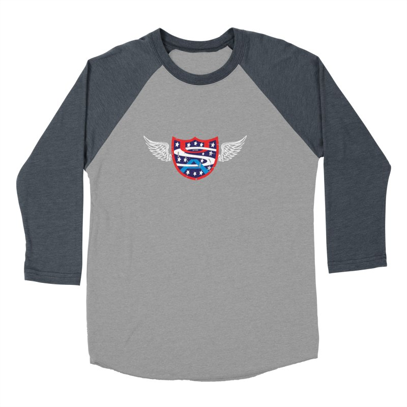National Pride !! Men's Baseball Triblend T-Shirt by cityshirts's Artist Shop