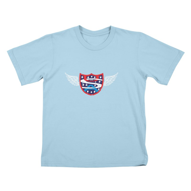 National Pride !! Kids T-Shirt by cityshirts's Artist Shop