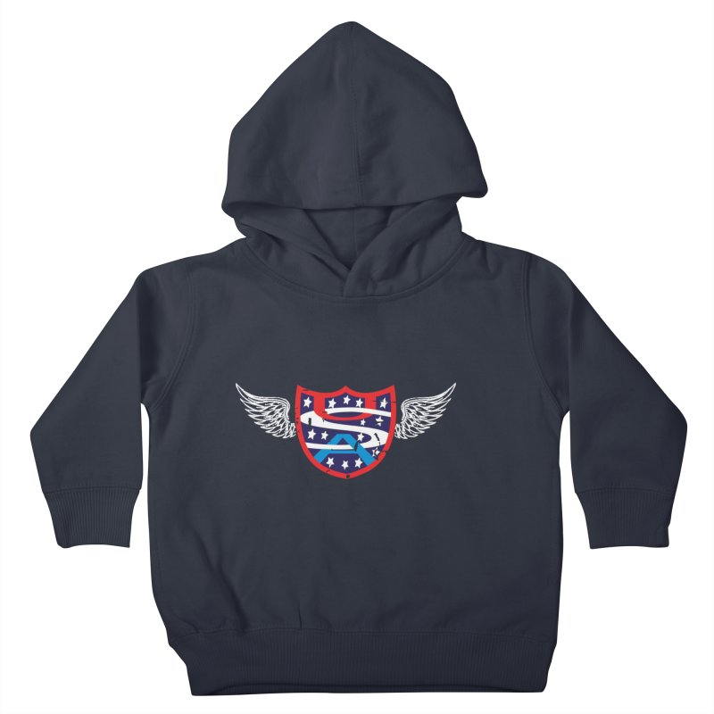 National Pride !! Kids Toddler Pullover Hoody by cityshirts's Artist Shop
