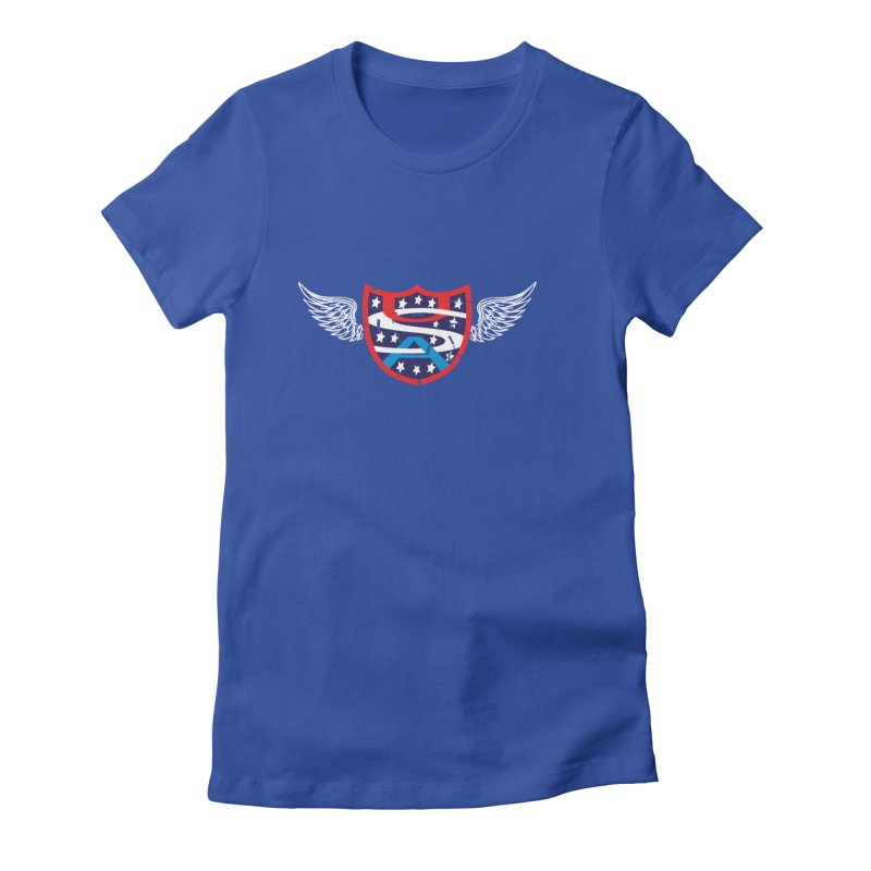 National Pride !! Women's Fitted T-Shirt by cityshirts's Artist Shop