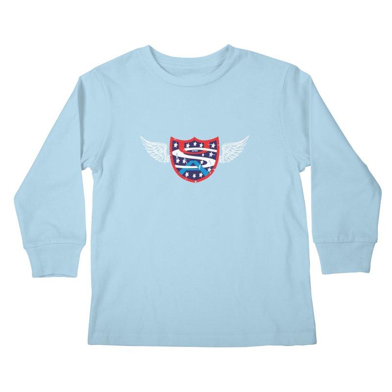National Pride !! Kids Longsleeve T-Shirt by cityshirts's Artist Shop