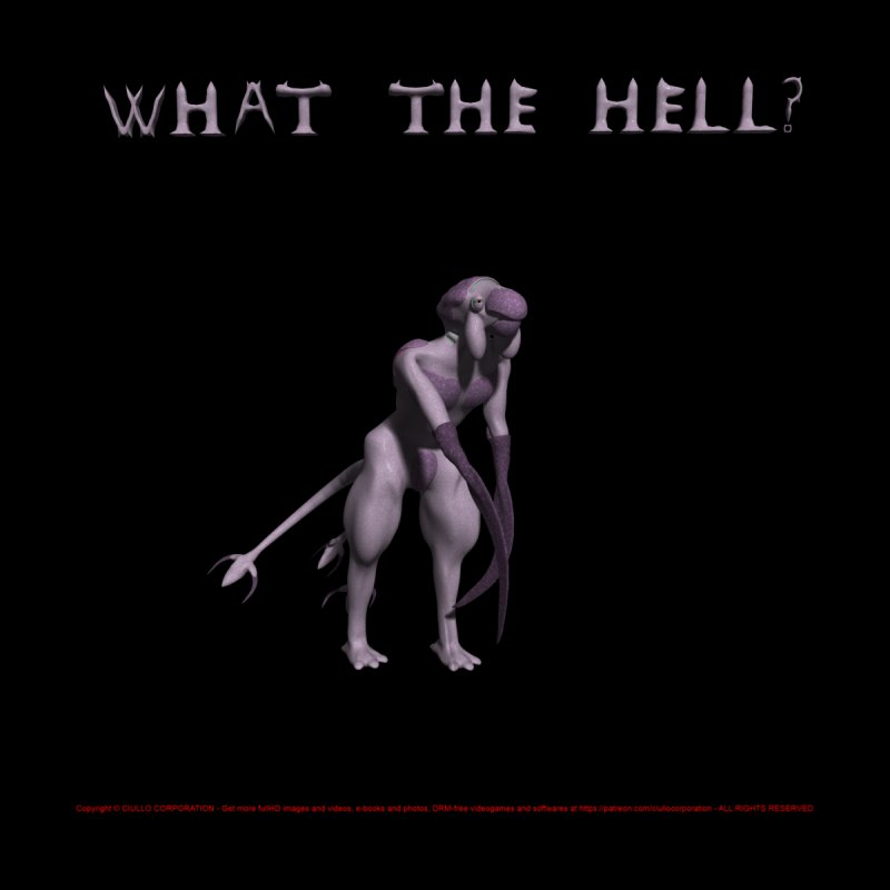 What the Hell by CIULLO CORPORATION's Artist Shop