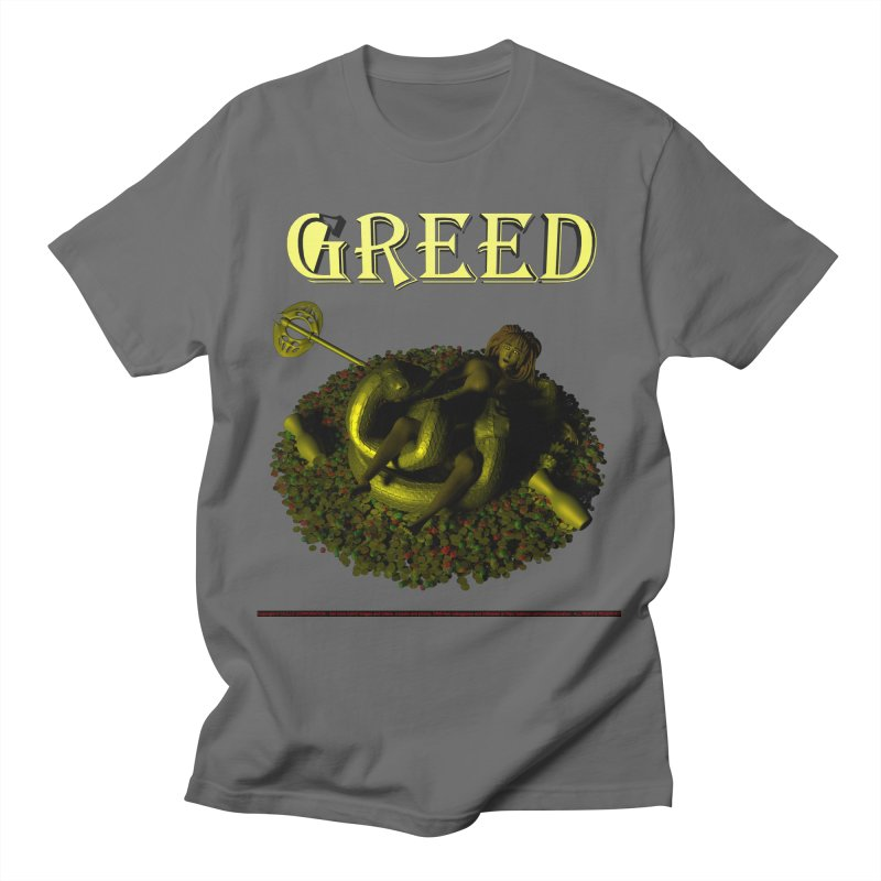 84. Greed (Ana and the Amphysbaena) Dudes of CIULLO CORPORATION T-Shirt by CIULLO CORPORATION's Artist Shop