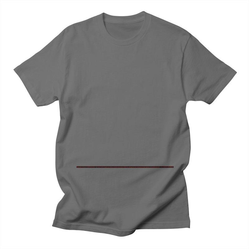 Empty Men's T-Shirt by CIULLO CORPORATION's Artist Shop