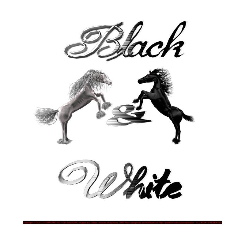Black & White Men's T-Shirt by CIULLO CORPORATION's Artist Shop