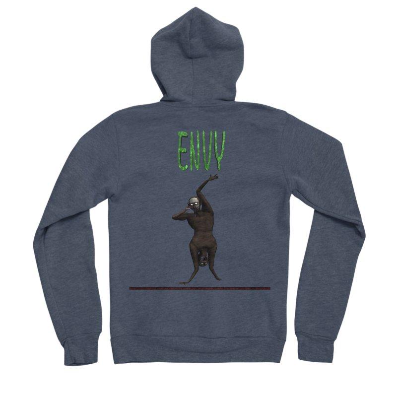 Envy - Joker Men's Zip-Up Hoody by CIULLO CORPORATION's Artist Shop